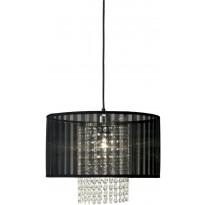 Riippuvalaisin Scan Lamps Vendela 35, Ø 350x250 mm, musta