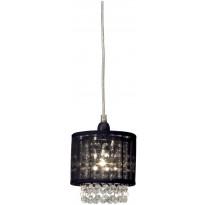 Ikkunavalaisin Scan Lamps Vendela, Ø 130x130 mm, musta