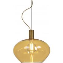 Riippuvalaisin Aneta Bell, Ø35cm, mattamessinki/meripihka