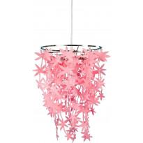 Riippuvalaisin Aneta Blomster, 300x300x450 mm, vaaleanpunainen