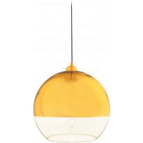 Riippuvalaisin Aneta Lux 35, Ø 350x330 mm, kulta, kirkas lasi
