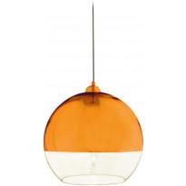 Riippuvalaisin Aneta Lux 35, Ø 350x330 mm, kupari, kirkas lasi