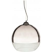 Riippuvalaisin Aneta Lux 45, Ø 450x430 mm, kromi, kirkas lasi