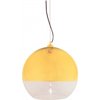 Riippuvalaisin Aneta Lux 45, Ø 450x430 mm, kulta, kirkas lasi