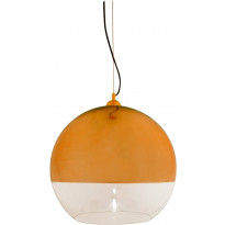 Riippuvalaisin Aneta Lux 45, Ø 450x430 mm, kupari, kirkas lasi, Verkkokaupan poistotuote