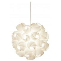Riippuvalaisin Aneta Beauty, Ø 350x320mm, valkoinen