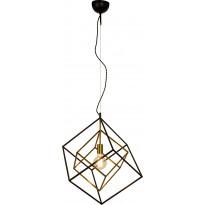 Kattovalaisin Aneta Cubes, ø 54cm, musta/antiikkikulta