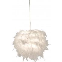 Riippuvalaisin Aneta Boa, Ø 250x220 mm, valkoinen