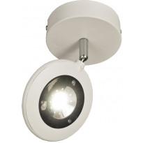 LED-kattospotti Aneta Moto, Ø 110x190 mm, valkoinen