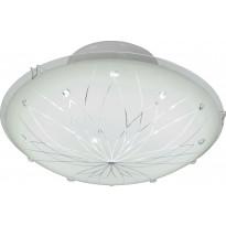 LED-kattoplafondi Aneta Rita, ø 30cm, valkoinen