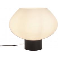 Pöytävalaisin Aneta Bell, 35x30cm, musta/valkoinen