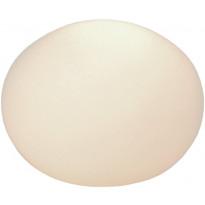 Pöytävalaisin Aneta Globus, Ø 130x100 mm, opaalilasi