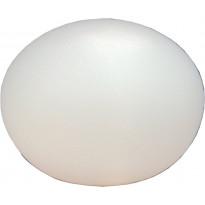 Pöytävalaisin Aneta Globus, Ø 300x235 mm, opaalilasi