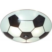 Plafondi Scan Lamps Football, Ø 250x160 mm, valkoinen, musta