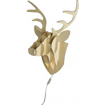 Seinävalaisin Scan Lamps Deer, puu