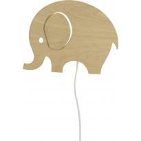 Seinävalaisin Scan Lamps Elefant, puu