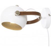 Seinävalaisin Scan Lamps Bow, valkoinen