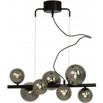 Kattovalaisin Scan Lamps Molekyl, 580mm, musta/savulasi