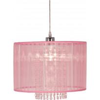 Riippuvalaisin Scan Lamps Vendela 35, Ø 350x250 mm, vaaleanpunainen