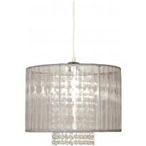 Riippuvalaisin Scan Lamps Vendela 35, Ø 350x250 mm, harmaa