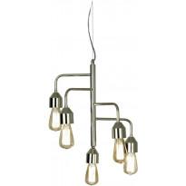 Riippuvalaisin Scan Lamps Flynn, 420x420x470 mm, 5-osainen kromi