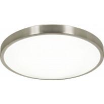 LED-kattoplafondi Scan Lamps Brad, ø 40cm, teräs/valkoinen