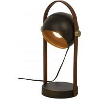 Pöytävalaisin Scan Lamps Bow, musta