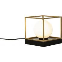 Pöytä-/seinävalaisin Scan Lamps Astro, 14x14.5cm, musta/kulta