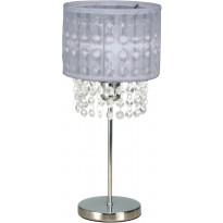 Pöytävalaisin Scan Lamps Vendela, Ø 160x355 mm, kromi, harmaa