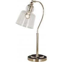 Pöytävalaisin Scan Lamps Figaro, hopea/kirkas