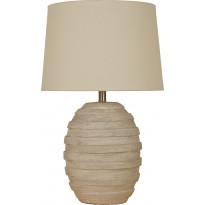 Pöytävalaisin Scan Lamps Estoril, 65cm, harmaa/valkokuullotettu