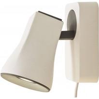 Seinäspotti Scan Lamps Modus, GU10, valkoinen/musta