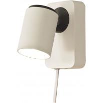 Seinäspotti Scan Lamps Juke, GU10, valkoinen/musta