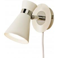 Seinäspotti Scan Lamps Trakt, GU10, valkoinen/kromi