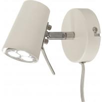 Seinäspotti Scan Lamps Pilot, GU10, valkoinen