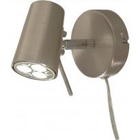 Seinäspotti Scan Lamps Pilot, GU10, mattateräs