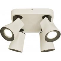 Kattospotti Scan Lamps Modus, 4-osainen, GU10, valkoinen/musta