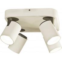 Kattospotti Scan Lamps Juke, 4-osainen, GU10, valkoinen/musta