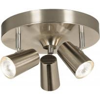 Kattospotti Scan Lamps Pilot, 3-osainen, GU10, mattateräs, Verkkokaupan poistotuote