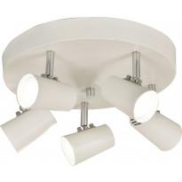 Kattospotti Scan Lamps Pilot, 5-osainen, valkoinen