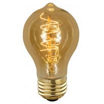 Erikoispolttimo Deco amber Edison (90240) 40W