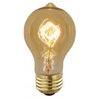 Erikoispolttimo Deco amber Edison (90340) 40W