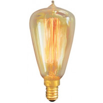 Erikoispolttimo Deco, 40W E14 amber