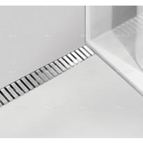 Lineaarinen lattiakaivo Line yhdellä kaadolla, 800 mm, Alcaplast