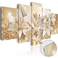 Akryylilasitaulu Artgeist Golden Bouquet, eri kokoja