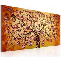 Taulu Artgeist Riikinkukkopuu, 120x60cm, käsinmaalattu, Verkkokaupan poistotuote