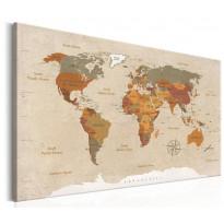 Taulu Artgeist World Map, eri kokoja
