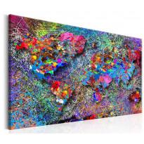 Taulu Artgeist Map: Jackson Pollock inspiration, eri kokoja