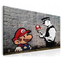 Taulu Artgeist Mario and Cop, eri kokoja
