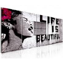 Taulu Artgeist Banksy: Life is Beautiful, eri kokoja